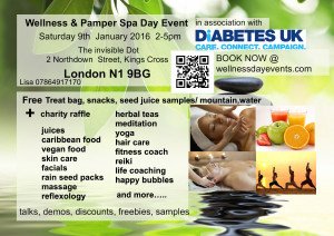 wellness day a6 flyer best