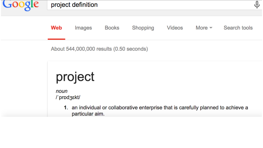 project define
